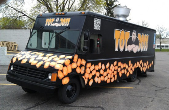 TOT BOSS food truck Minneapolis